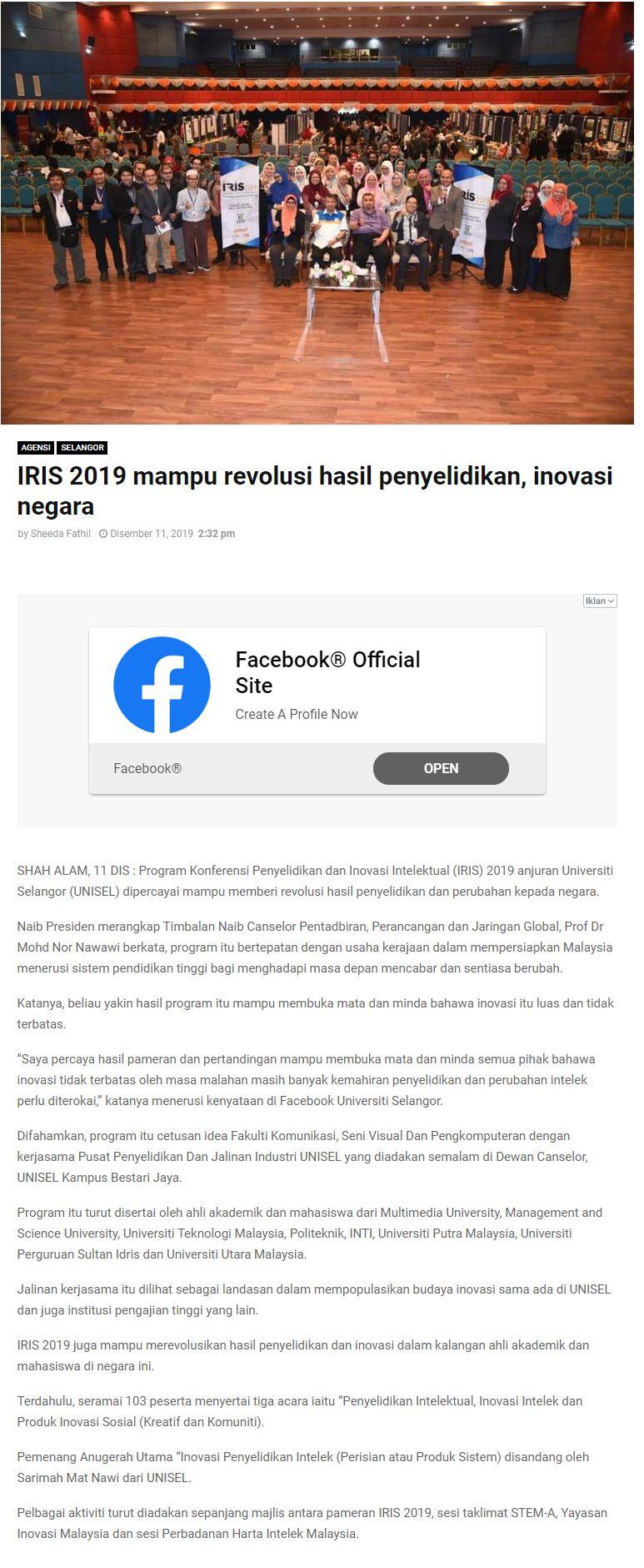 Selangor Kini 11 Disember 2019