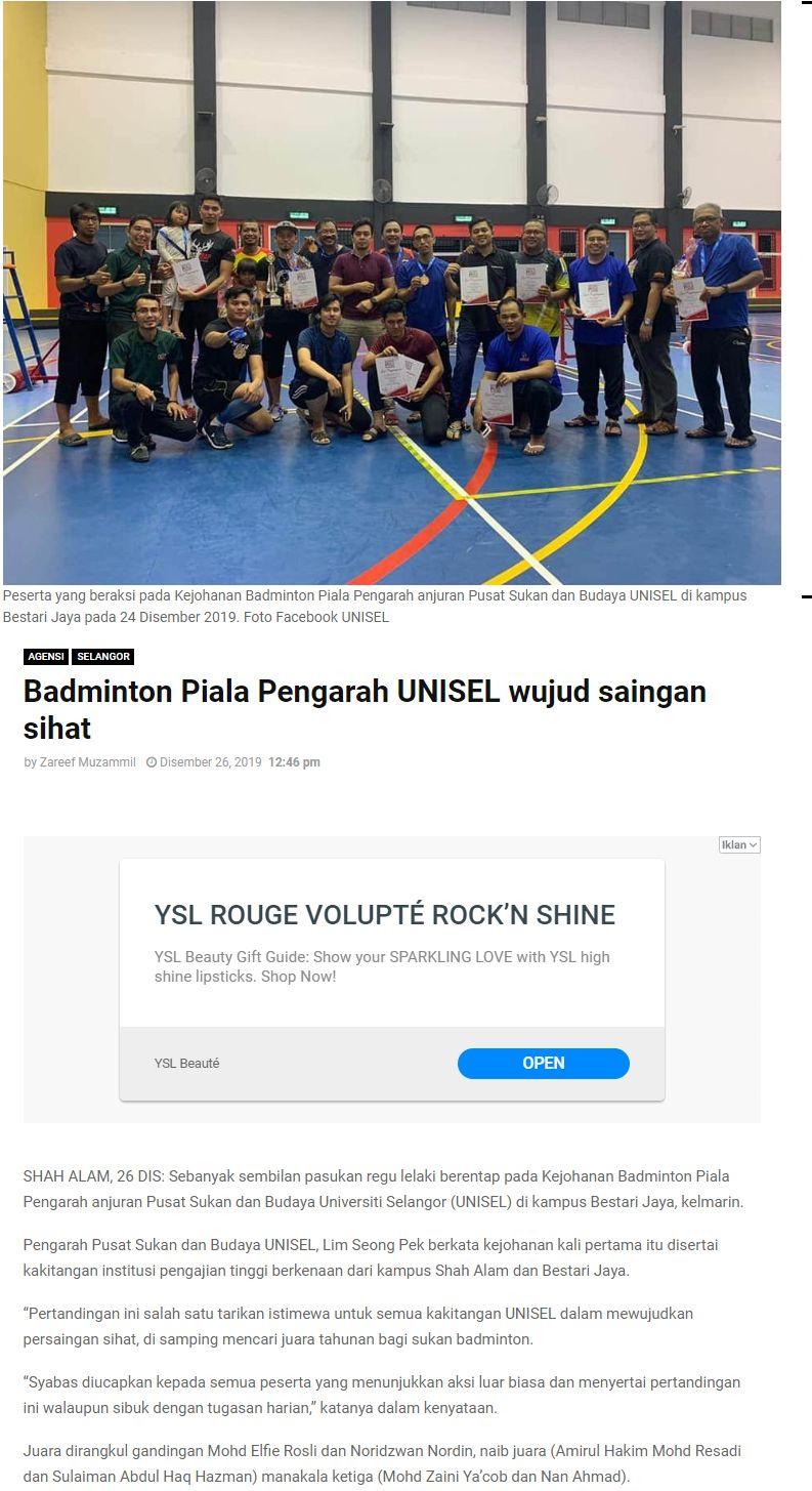SelangorKini 26 Disember 2019-