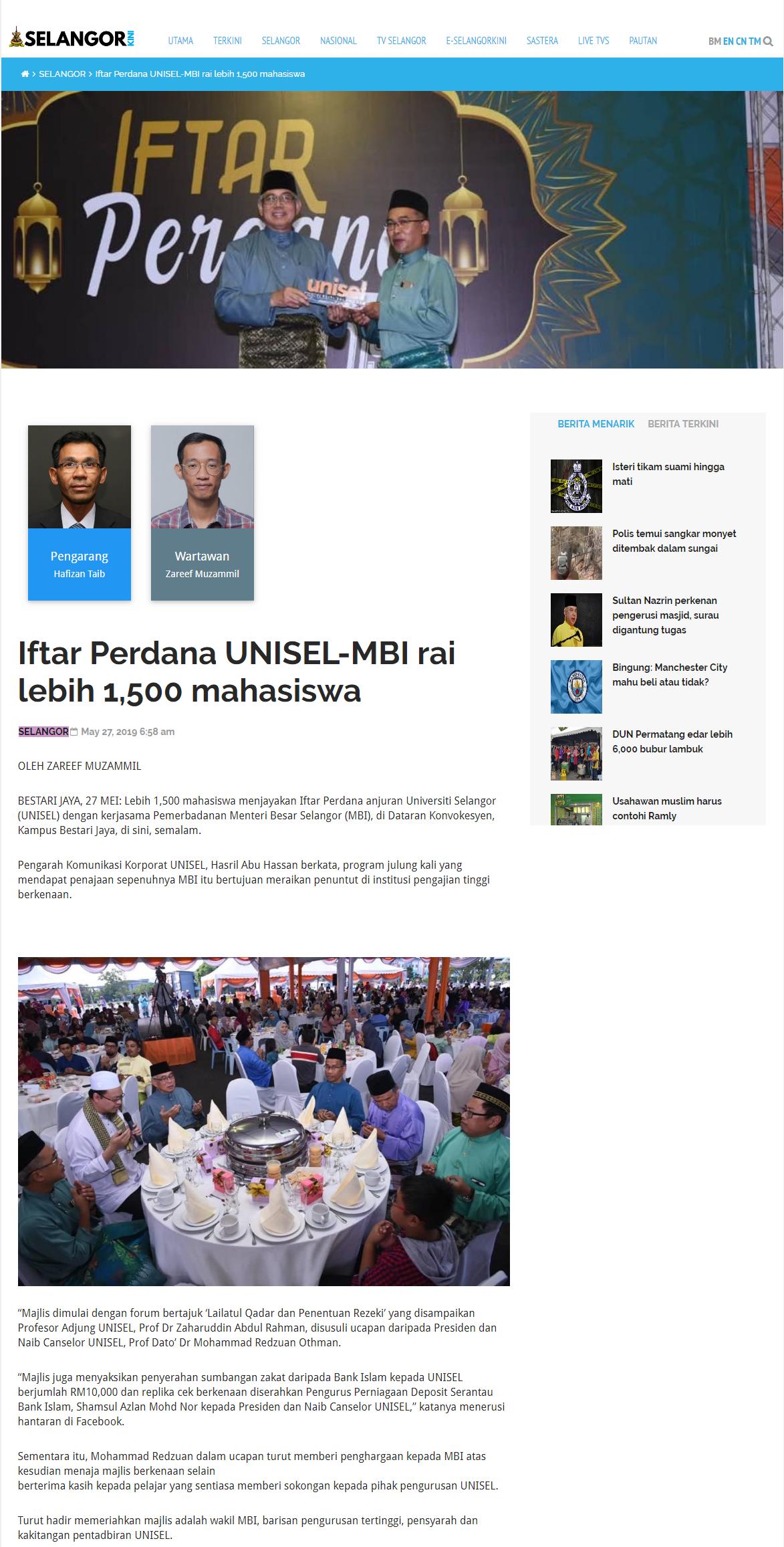 Selangorkini (Online) 27 Mei 2019