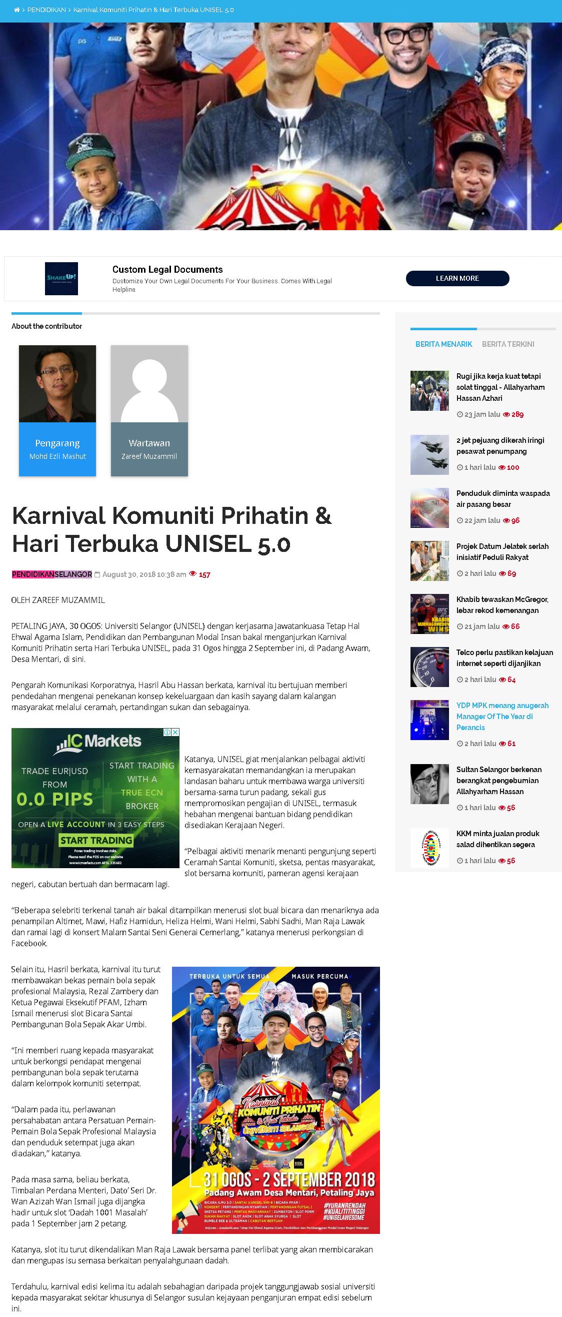 Selangorkini Online - 30 Ogos 2018