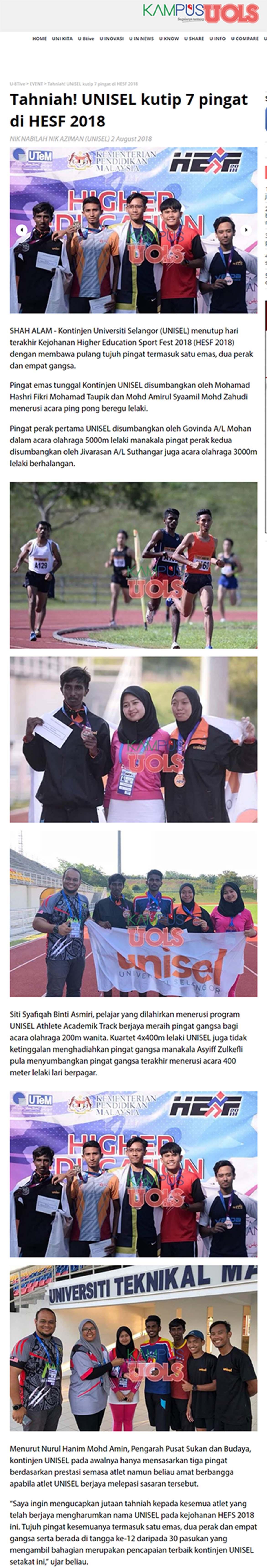 Kampusuols Sinar Harian Online - 2 Ogos 2018