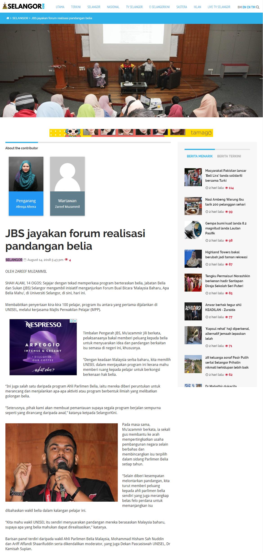 Selangorkini Online - 14 Ogos 2018 (Selasa)