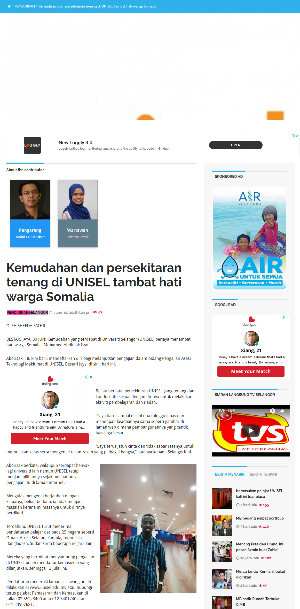 Selangorkini Online - 30 Jun 2018