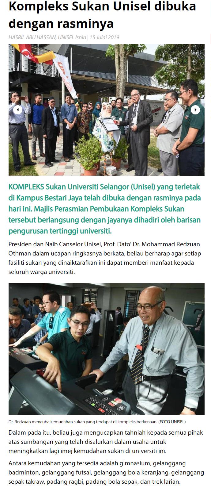 Sinar Harian_Kampusuols (Online) 15 Julai 2019