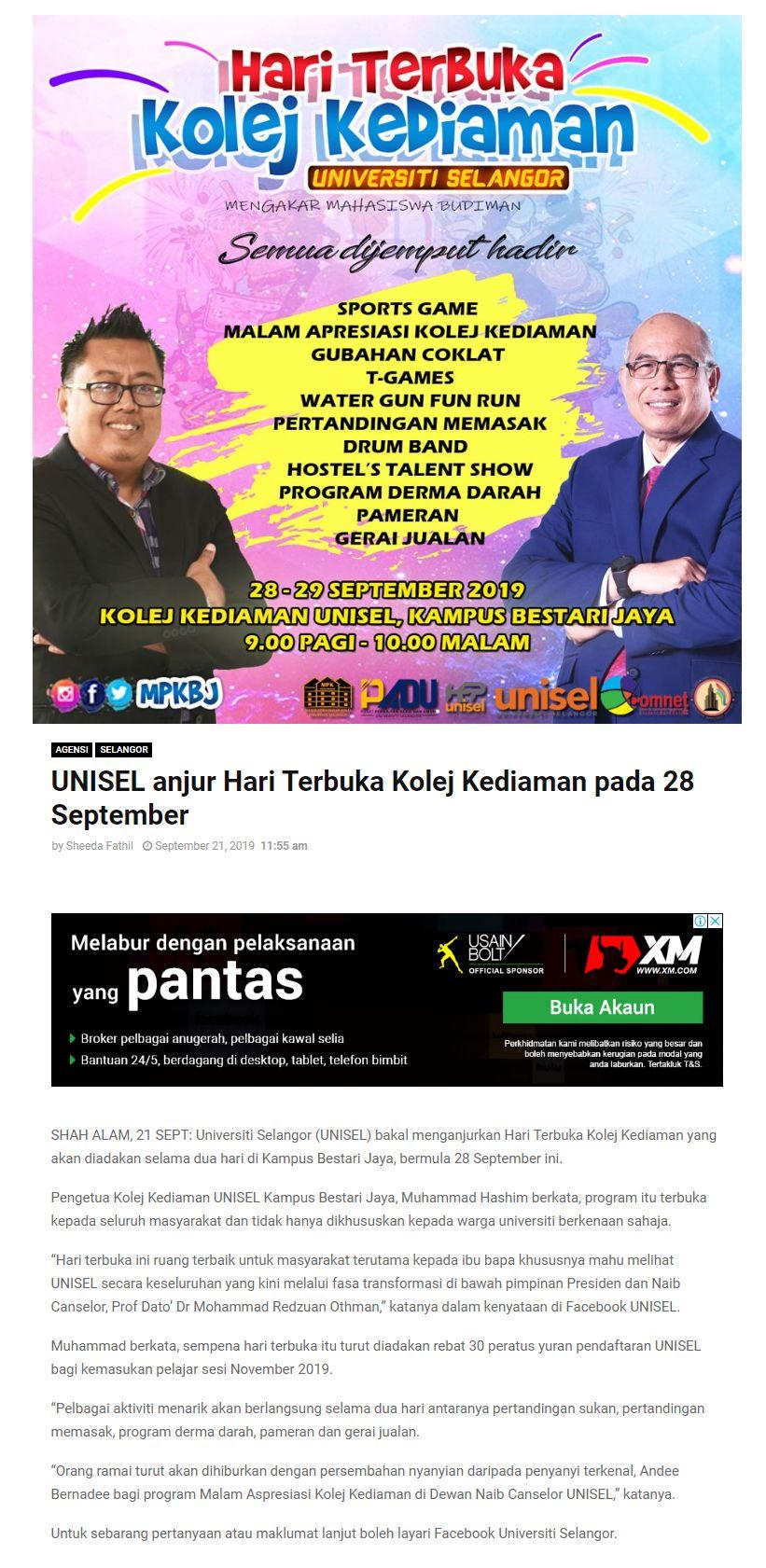 Selangor Kini (Online) 21 September 2019