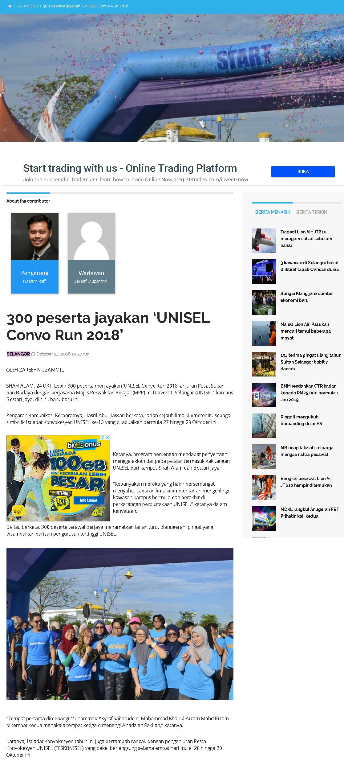 Selangorkini Online 24 Oktober 2018