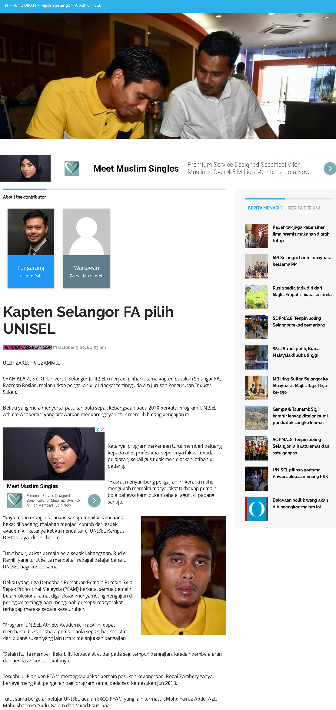 Selangor Kini Online - 5 Oktober 2018