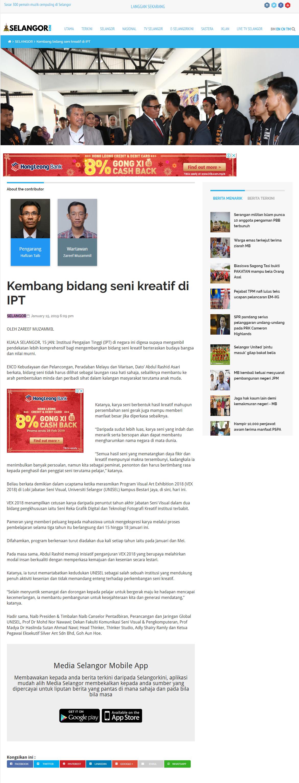 Selangor Kini 16 Jan 2019