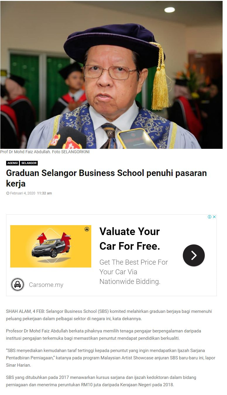 Selangorkini 4 Feb 2020