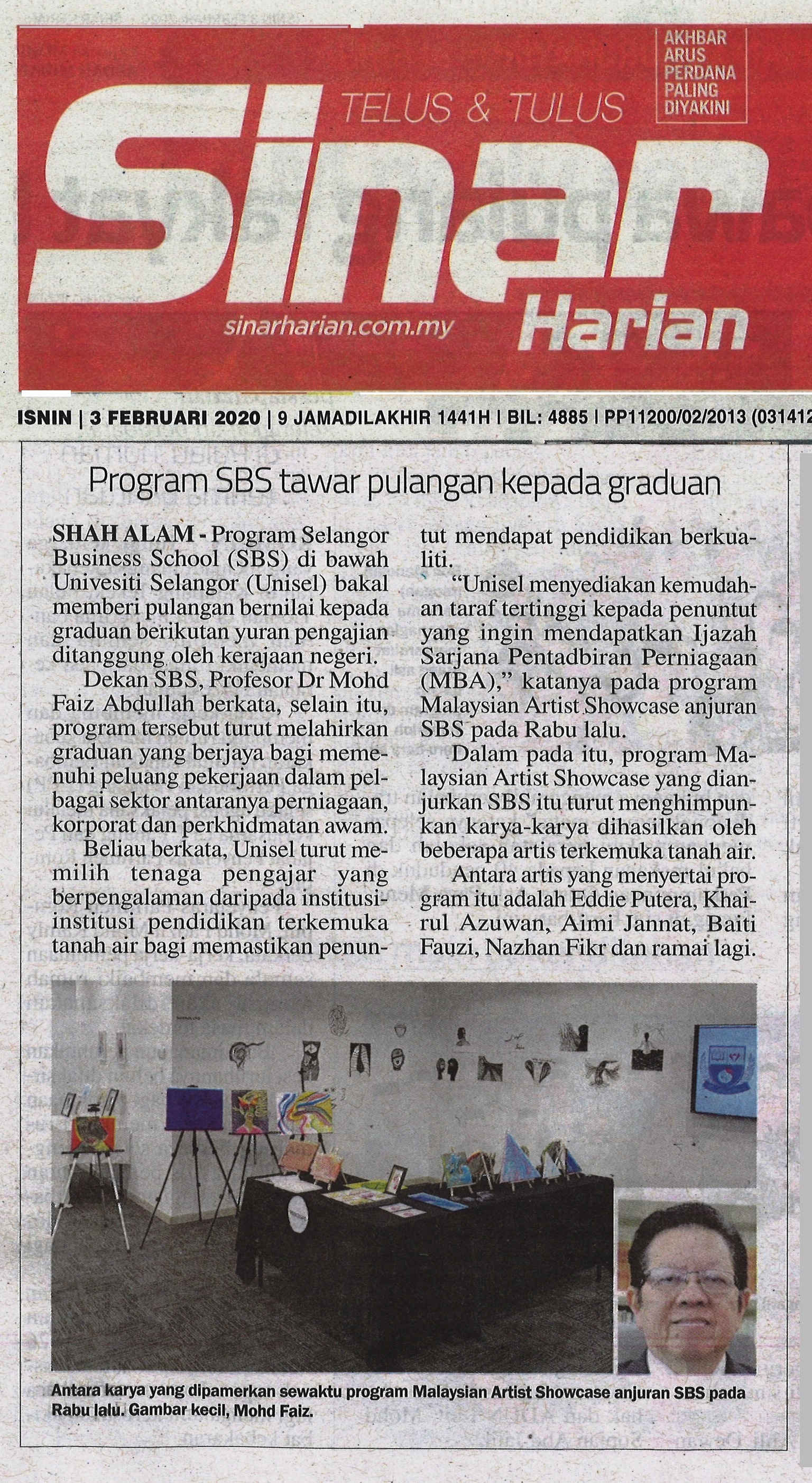 Sinar Harian 3 Feb 2010