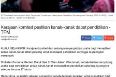 Berita Harian Online - 3 Oktober 2018