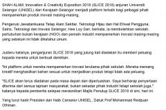 Berita Harian Online - 16 November 2018
