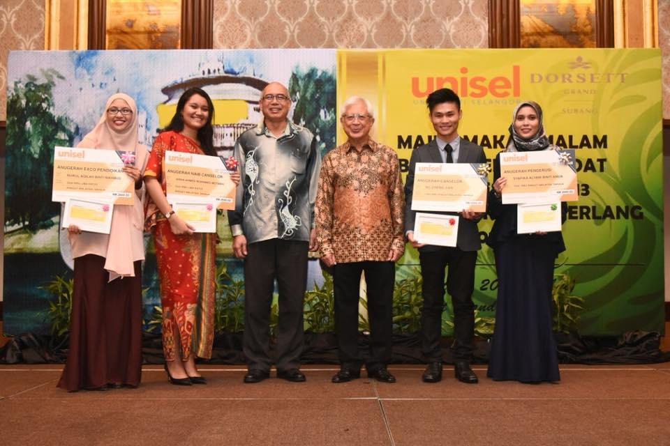 Malam Penganugerahan Unisel Disambut Gilang Gemilang Unisel Universiti Selangor